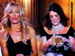 Photo of Taylor Armsrong Lisa Vanderpump and Giggy the Pomeranian