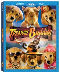 Photo of Disney's Treasure Buddies Bluray Combo
