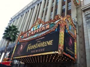 Photo of Frankenweenie Premiere El Capitan Theater Hollywood